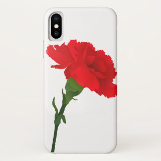 White Carnation Phone Case