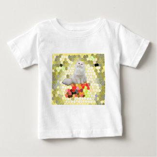 White Cat Baby T-Shirt
