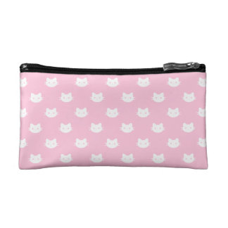 White Cat Cosmetic Bag