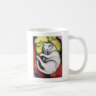 White cat, Franz Marc Basic White Mug