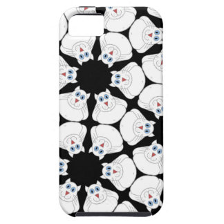 White cat iPhone 5 covers