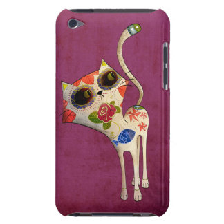 White Cat of The Dead iPod Touch Case