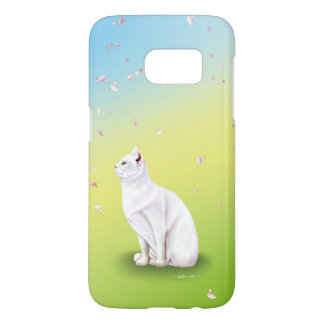 White cat series (blue × green) Samsung of spring