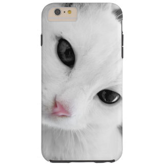 White Cat Tough iPhone 6 Plus Case
