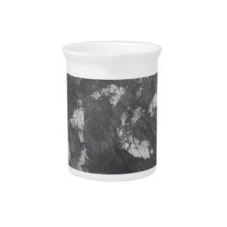 White Chalk and Black Ink Pitcher