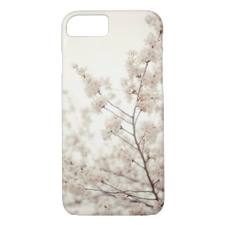 White Cherry Blossoms - Central Park Spring iPhone 7 Case