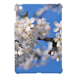 White cherry blossoms iPad mini cover