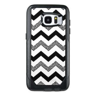 White Chevron Samsung Galaxy S7 Edge Otterbox Case