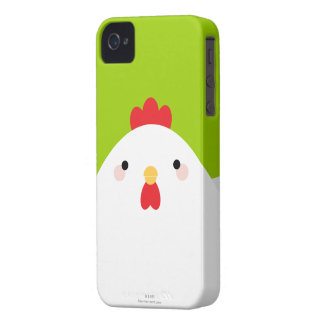 White Chicken iPhone 4 Case
