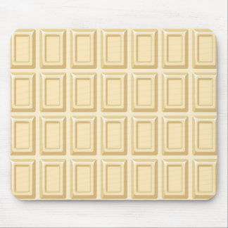 White Chocolate Bar Texture Mouse Pad