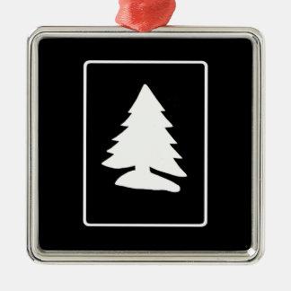 White Christmas Tree Ornament