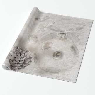 White Christmas Wrapping Paper