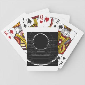 white circle playing cards