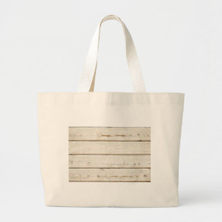White Clapboard Large Tote Bag