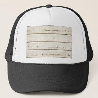 White Clapboard Trucker Hat