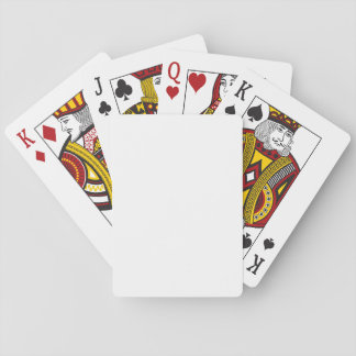 White Classic Playing Cards