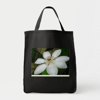 White Clematis bag