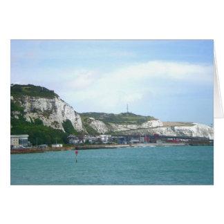 White Cliffs of Dover, England Card