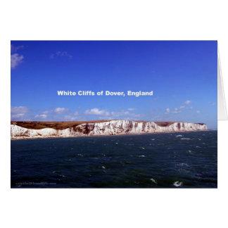 White Cliffs of Dover, United Kingdom Card