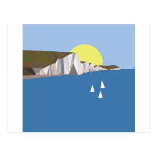 White Cliffs Summer Postcard
