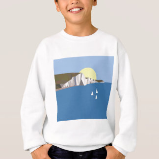 White Cliffs Summer Sweatshirt