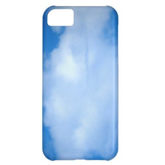 White Cloud 13 Cover For iPhone 5C