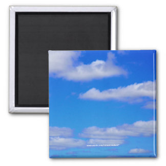 White Clouds, Blue Sky - Magnet
