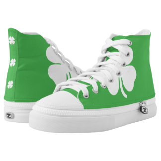 White Clover Leaf Shoes