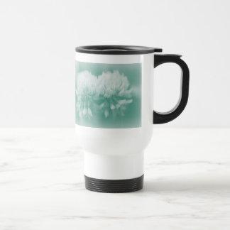 White Clover Wildflowers Coffee Mugs