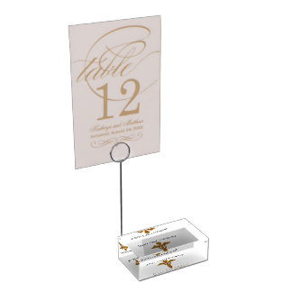 White Coat Ceremony Gold Medical,Table Card Holder Table Card Holders