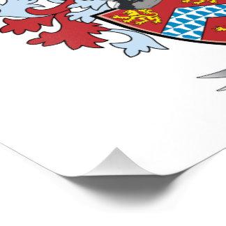 White Coat of Arms Photo Print