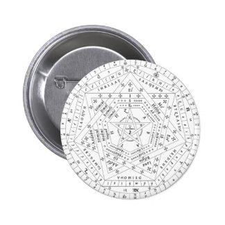 White Complete Sigillum Dei Aemeth Pin