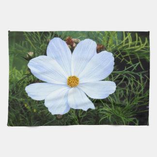 White Cosmos Towel