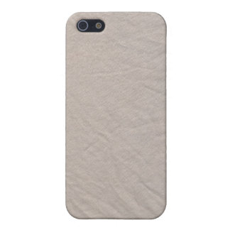 White Cotton Sheet Fabric Texture iPhone 4 Case