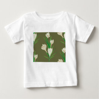 White Crocus Flowers 2 Baby T-Shirt