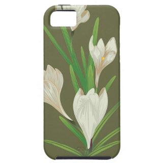 White Crocus Flowers 2 iPhone 5 Cover