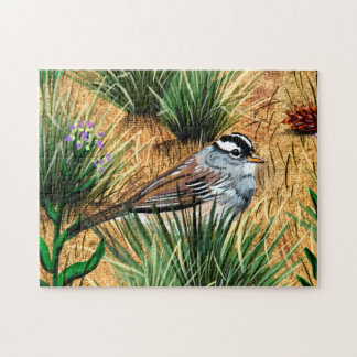 White Crowned Sparrow Puzzle
