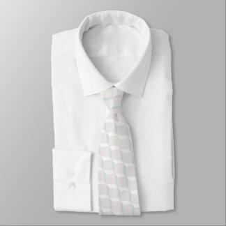 White cubes tie