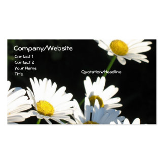 White Daisies Business Cards