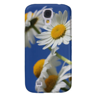 White Daisies Galaxy S4 Covers