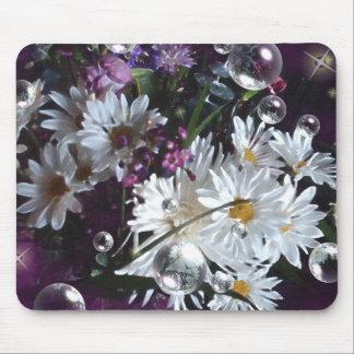 White Daisies Mousepads