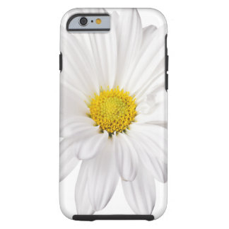 White Daisy Flower Background Customized Daisies Tough iPhone 6 Case