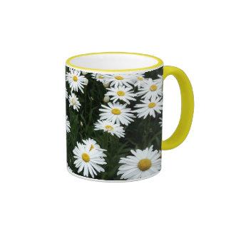 WHITE DAISY mug
