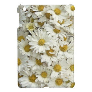 White Daisy Mum Floral iPad Mini Case