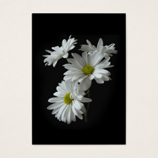 White Daisy Mums ATC Photo Card