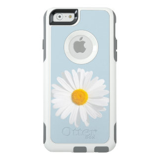 white daisy OtterBox iPhone 6/6s case