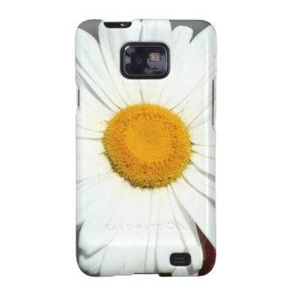 White Daisy Samsung Galaxy S Case-Mate Bare Samsung Galaxy S2 Covers
