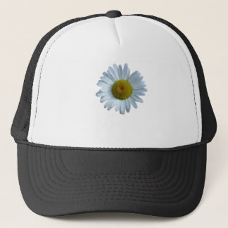 White Daisy Trucker Hat
