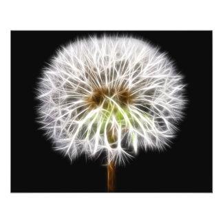 White Dandelion Flower Plant 11.5 Cm X 14 Cm Flyer