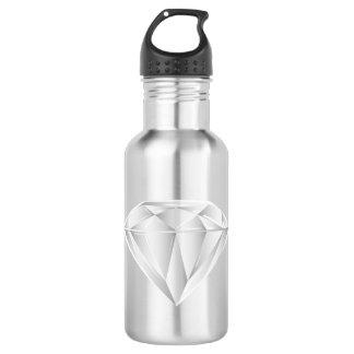 White Diamond for my sweetheart 532 Ml Water Bottle